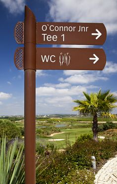 Best Golf Tips For Seniors Directory Signs, City Information, Wayfinding Signs, Sign System, Outdoor Signage, Environmental Graphic Design, Public Realm, Directional Signs, Exterior