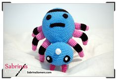 crochet amigurumi ideas Sabrina's Crochet - Spinarak (Pokemon) - Do you want to make your own Spinarak? The finished plush is about 16 cm long. Pattern is available in: Pokemon Crochet Pattern, Crochet Patterns Amigurumi, Crochet Toys, Crochet Animals, Crochet Crafts, All Free Crochet, Cute Crochet, Yarn Crafts, Sewing Crafts