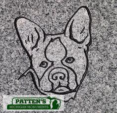 Boxer design Patten's Michigan Monuments, Hastings, Mi