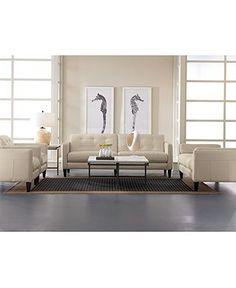 Milan Leather Sofa   Couches U0026 Sofas   Furniture   Macyu0027s