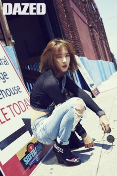 4Minute member Jiyoon in Dazed & Confused Korea