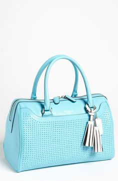 COACH 'Legacy - Haley' Perforated Leather Satchel