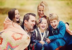 @I love the blanket and candid moment...family of 5 from Simplicity Photography.