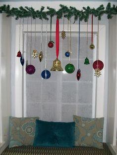 53 excelentes im genes de puertas y ventanas en navidad for Decoracion de navidad para ventanas y puertas