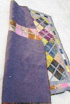 Sue Daurio's Quilting Adventures: 2014 Quilts Night in the garden back