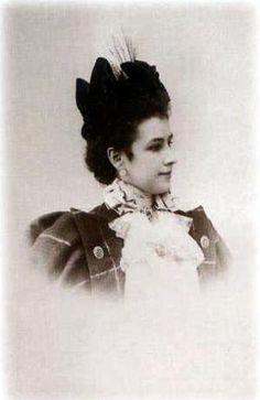 балерина Матильда Кшесинская, 1872—1971. (Фото - 1889 г. Россия.)