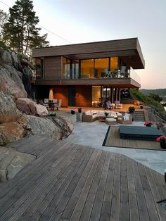 Cabin by the sea