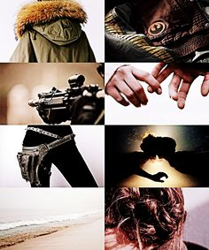 """tigerstark: """" OTP AESTHETIC // Jyn Erso x Cassian Andor """"-i'm not used to people sticking around when things go bad. -welcome home. """" """""""