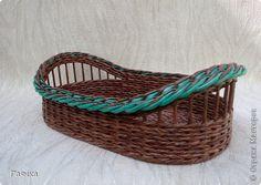 Поделка изделие Плетение ПЛЕТЕНИЕ Трубочки бумажные фото 1