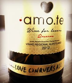 Vinhos amo.te • Wine for Lovers •  Store OnLine www.amote.pt •  Message in a Bottle Collection •