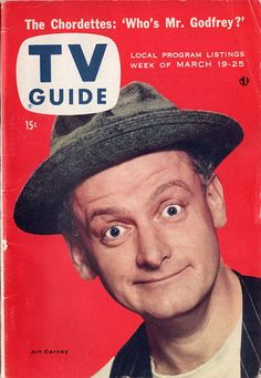 """Art Carney of """"The Honeymooners""""  March 19-25 1955"""