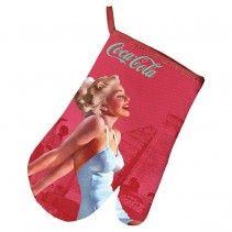 Coca-Cola Pin-Up Oven Glove