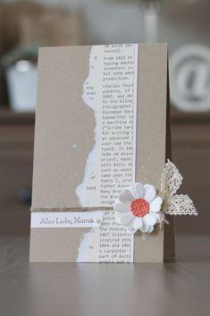 Paulines Papier: Zum Muttertag…