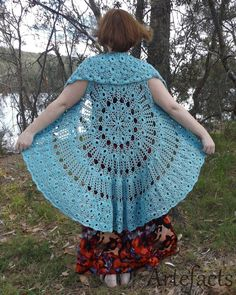 Spinning Around Duster Crochet pattern by Artefacts