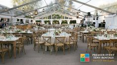 More clear roofs for your special day! visit our website premiereventtent.ca