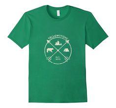 Yellowstone National Park Shirt- Camping Adventure Gift