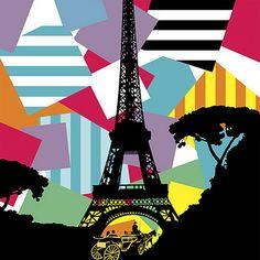 Paris | Lobo | Pop Art www.lobopopart.com.br