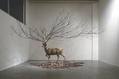 Surrealist sculptures Myeongbeom Kim