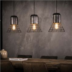 Industrial Ceiling Cleon Light Old Silver- Available from stock Affordable Furniture, Hanging Lights, Ceiling Lights, House Design, Lighting, Inspiration, Silver, Home Decor, Products