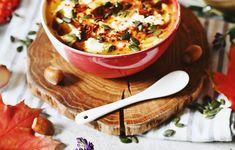 Zupa krem z pieczonej dyni oraz warzyw korzeniowych Thai Red Curry, Salsa, Ethnic Recipes, Food, Hokkaido, Essen, Salsa Music, Meals, Yemek