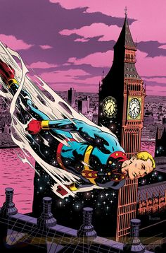 Miracleman cover by Paolo Rivera