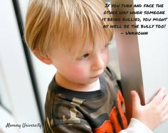 Mommy Rant: A Lesson In Bullying an article from Mommy University at www.mommyuniversitynj.com #bully #mommyunj