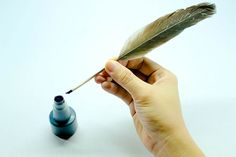 9 Tips on How to Make a Quill Pen out of a Feather - wikiHow