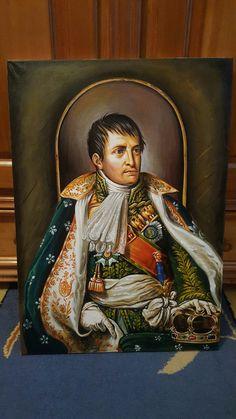 Napoleon Buonaparte - Croitoru Stefan Acrilic 50/70cm