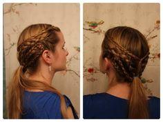 Hair Inspired by Daenerys Targaryens Yunkai Braids. - YouTube