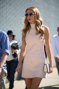 Street Style vestidos estampados primavera - Sean Cunningham