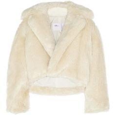 Toga Cropped faux fur jacket