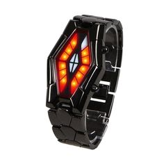 Beautiful Watches, Wish Shopping, Red And Blue, Snake, Led, Steel, Luxury, Stuff To Buy, Black