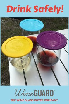 DrinkGuard, Glass Cover: Tired of trying to protect your family's drinks? Let DrinkGuards do that for you. Just because you soak-in the outdoors, doesn't mean your drink has to! Walk away and play, and your drinks will remain safe.  #drinkguard #wineaccessory #wineaccessories #barware #drinktop #drinktopper #wineglass #noflyzone #byebyefly #barware #wineenthusiast #winedrinker #weekendvibes  #thirstythursday #wineporn #wineeaddict #thewinegirl #womeninbusiness #winery #wineguard Tired Of Trying, Thirsty Thursday, Wine Glass, Barware, Outdoors, Play, Drinks, Cover, Picnic