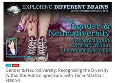 Check out Part II of my interview with Dr. Harold Reitman at Different Brains.com #autism #aspergers #neurodiversity #differentbrains #2e #neurodivergent #femaleautism #autisticfemales Please share http://differentbrains.com/gender-differences-neurodiversity-recognizing-diversity-within-autism-spectrum-tania-marshall-edb-54/