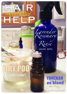 Camp Wander: Hair Helpers for Thicker, Longer Hair Naturally!