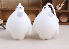 2015 new novelty gift Big hero 6 Baymax Vent Ball Action Figure Toy Soft Robot Doll Relax Squeeze Stress Relief