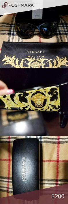 Authentic Versace sunglases Polarized with lens cloth and case Versace Accessories Sunglasses