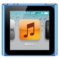My Apple iPod Nano (6th generation) clips to my clothes so I can run hands-free while listening to my favorite tunes.