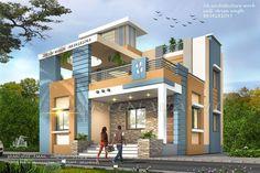 32 Super Ideas Home Exterior Design Master Suite Single Floor House Design, Duplex House Design, House Front Design, Modern House Design, Front Elevation Designs, House Elevation, Ceiling Design Living Room, Independent House, Modern Architecture Design