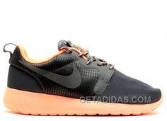 W's Roshe Run Hyp - Nike - 642233 800 - bright mango/dk magnet grey Pumas Shoes, Adidas Shoes, Men's Shoes, Sneakers Nike, Nike Air Jordan Retro, Air Jordan Shoes, Nike Run Roshe, Cheap Puma Shoes, Adidas Boost
