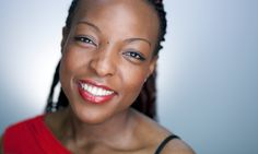 Joy Ogude. Television presenter. A recent client of London Headshots.