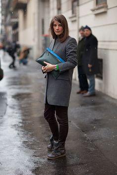 This Celine portfolio is utterly current.   - HarpersBAZAAR.com