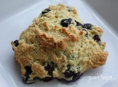 Low Fat Blueberry Scones - I have been meaning to make scones for a long time because I feel they make a perfect Sunday morning breakfast with a nice hot cup of tea. Blueberries are considered a super fruit and are rich in antioxidants. #mothersday #mom
