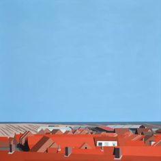 "Saatchi Art Artist Jeroen Allart; Painting, ""Zeeland"" #art"