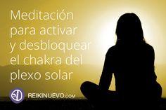 Meditación para activar y desbloquear el chakra del plexo solar