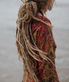 Beach witch hair
