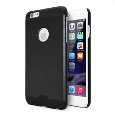 FUNDA METAL IPHONE 6 PLUS NEGRA Precio en Atudisposicion:   5,90€