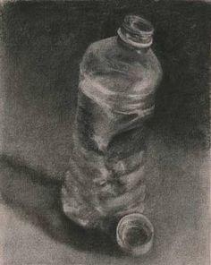 charcoal drawing of garbage - Recherche Google