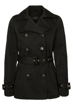 Köp Vero Moda Trenchcoat - black för 499,95 kr (2018-04-18) fraktfritt på Zalando.se