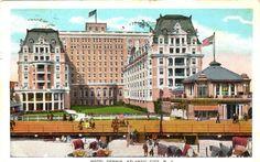 HOTEL DENNIS  ATLANTIC CITY NEW JERSEY  VINTAGE PC  50D